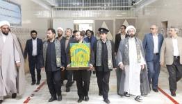 آزادی ۴۸ زندانی باحضور کاروان زیرسایه خورشید در زندان مرکزی همدان