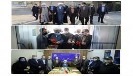افتتاح شعب طلایهداران صلح و سازش در فرمانداری و شهرداری قزوین
