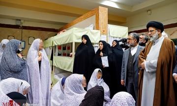 بازدید رییس قوه قضاییه از ندامتگاه زنان(شهرری) پویش بخشایش فاطمی